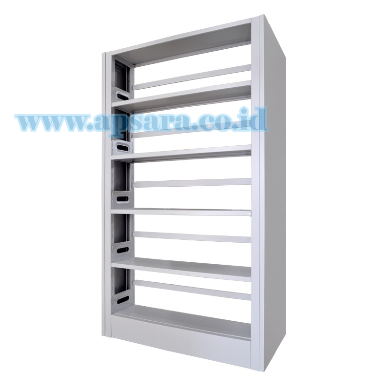Shelving 5 Shelf Steel 1 Side  (Rak Buku 1 Muka)