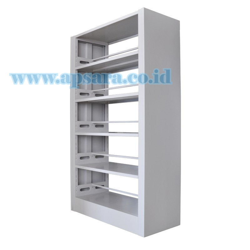 Shelving 5 Shelf Steel 2 Side  (Rak Buku 2 Muka)